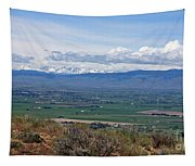 Ellensburg Valley With Sagebrush And Lupine Tapestry