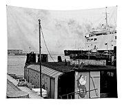 Elsinore Port Denmark Tapestry
