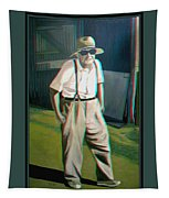 Elwood - 2d-3d Anaglyph Conversion Tapestry