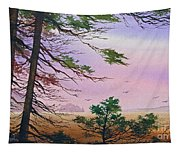 Embrace Of Dawn Tapestry