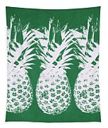 Emerald Pineapples- Art By Linda Woods Tapestry