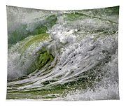 Emerald Storm Tapestry