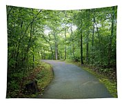 Emerald Trail Tapestry