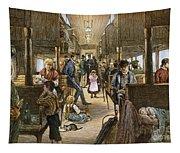 Emigrant Coach Car, 1886 Tapestry