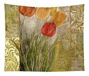 Emily Damask Tulips IIi Tapestry