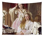 Emma And Federica Bankes Of Soughton Hall  Tapestry