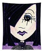 Emo Girl Iv Tapestry