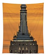 Empire State Building Esb Broadcasting Nyc Tapestry