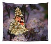En Garde - Painted Lady - Butterfly Tapestry