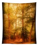 Enchanted Path 2 - Allaire State Park Tapestry