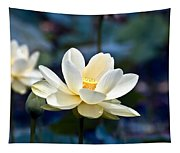 Enchanting Lotus Tapestry