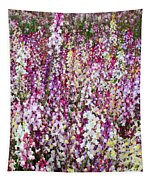 Endless Field Of Flowers Tapestry