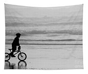 Endless Possibilities - Black And White Tapestry