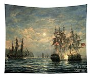Engagement Between The 'bonhomme Richard' And The ' Serapis' Off Flamborough Head Tapestry