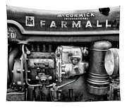 Engine - Farmall Tractor  Tapestry