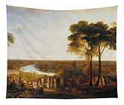 England, Richmond Hill, On The Prince Regent's Birthday Tapestry