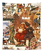 English Christmas Cards Tapestry
