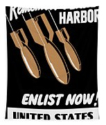 Enlist Now - United States Coast Guard Tapestry