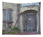 Entrance To An Old Chandlery Tapestry