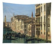 Entrance To The Grand Canal Looking West Tapestry
