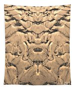 Golden Tidal Sands Tapestry