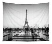 Esplanade Du Trocadero Tapestry