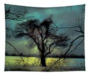 Ethereal Trees Tapestry