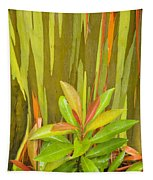 Eucalyptus And Leaves Tapestry
