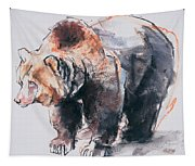 European Brown Bear Tapestry