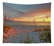 Evening At The Beach Tapestry