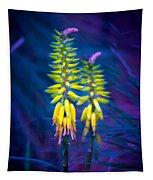 Aloe Flowers Tapestry