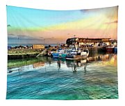 Evening Bridlington Harbour Tapestry