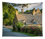 Evening Cottage Tapestry