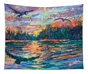 Evening Flight Tapestry
