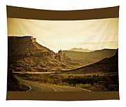 Evening In The Canyon Tapestry