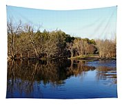 Evening On The Speed River Tapestry