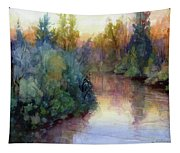 Evening On The Willamette Tapestry