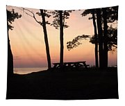 Evening Picnic Tapestry