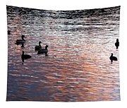 Evening Swim Tapestry