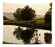 Evening Tide On The Farm Tapestry