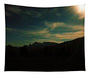 Evening Time In The Cascades Tapestry