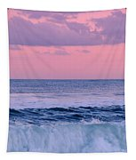 Evening Waves 2 - Jersey Shore Tapestry