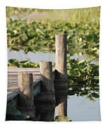 Everglades Pier Tapestry