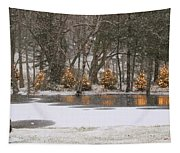 Evergreen Reflection Tapestry