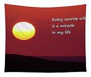Every Sunrise  Tapestry