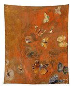 Evocation Of Butterflies Tapestry