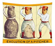 Evolution Of A Pitcher Tapestry