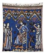 Exodus: Plague Of Hail Tapestry