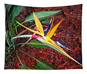 Exotic Bird Of Paradise Tapestry
