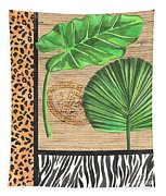 Exotic Palms 2 Tapestry